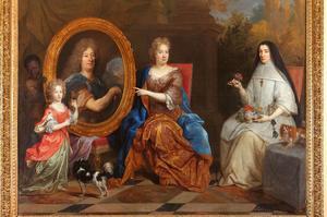 Portrait de la famille Stoppa par Nicolas de Largillière, v. 1685. Issu de la collection du musée du Trésor de l'Hôtel-Dieu.