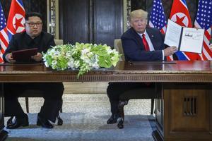 Signature de l'accord de dénucléarisation
