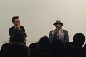 Archie Shepp a répondu aux questions du public à la suite de la diffusion du film Festival Panafricain d'Alger.