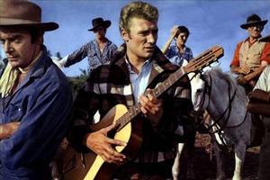 Johnny Hallyday incarne Johnny Rivière dans le film de 1963, réalisé par Noël Howard.