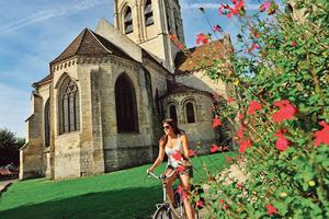 L'église Notre-Dame d'Auvers-sur-Oise (95).