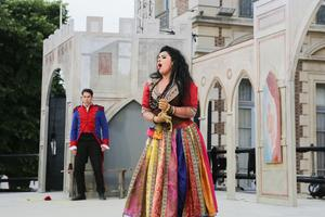 La Carmen de Gala El Hadidi a entraîné le public, initiés ou amateurs.