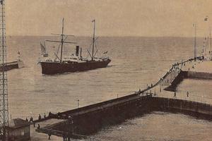 Le port du Havre avant 1914.