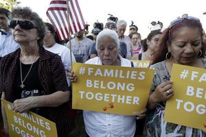 Manifestation à San Antonio (Texas), le 31 mai