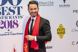 Cédric Grolet lors de la remise des prix à Bilbao le 19 juin 2018.