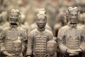 Chine - Shaanxi Xian armée enterrée