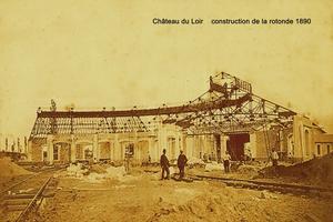 La rotonde en 1890.