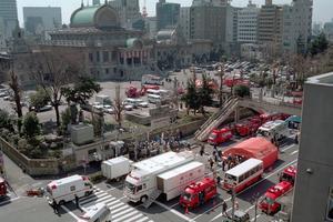 Attentat du métro, en 1995.