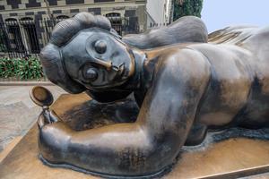 Colombie Medellin statue de Botero