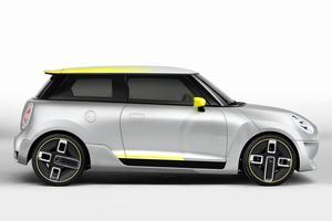 Mini pense à une voiture de ville 100 % électrique.