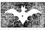 Figure d'une chauve-souris publiée dans «Les Annales politiques et Littéraires» du 21 août 1892.