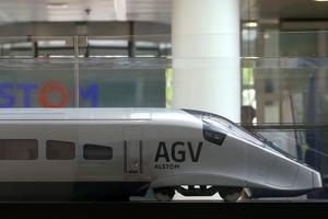 Alstom devait construire des trains de banlieue en Iran.