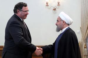 En juillet 2017, le patron de Total, Patrick Pouyanné, rencontrait le président iranien Hassan Rohani.