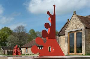 Calder exposé dans le Somerset.