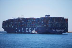 En cessant ses activités avec l'Iran, CMA-CGM suit les traces de ses concurrents Moller-Maersk et MSC.