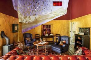 Une des six chambres de la Durslade Farmhouse.