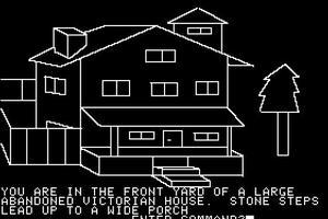 Avec des histoires fouillées, et des graphismes originaux, les jeux de Roberta Williams (ici «Mystery House», 1980) ont souvent été en avance sur leur époque.