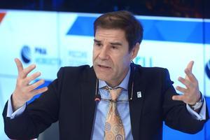 Mathis Wackernagel est l'un des penseurs de la notion d'empreinte écologique et le président du Global Footprint Network.