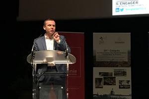 Fabien Tastet, président de l'Association des administrateurs territoriaux de France.