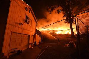 Incendie en Californie.
