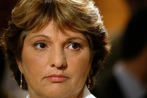 Marie Humbert, interviewée dans l'émission «Mots croisés» en janvier 2004.