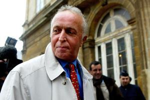 Le Dr Frédéric Chaussoy, le 5 février 2004, au palais de justice de Boulogne-sur-mer