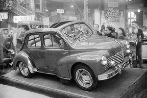 La Renault 4 CV, moteur des vacances.