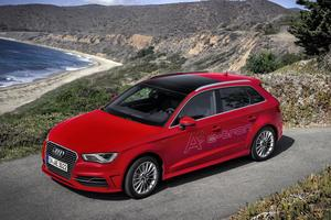 L'Audi A3 (ici, un modèle hybride) possède la faveur des conducteurs français.