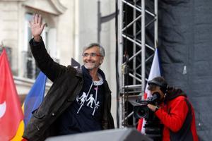 En pointe sous Hollande dans les manifestations contre le Mariage pour tous.