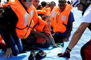 Parmi les personnes secourues, la moitié sont des enfants et un tiers des femmes.