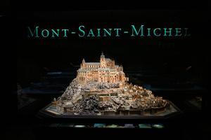 La maquette du Mont-Saint-Michel au Musée des Plans-reliefs