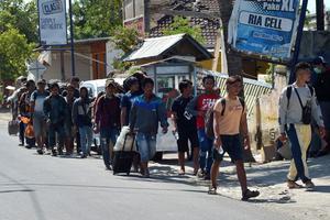 Après le séisme du 5 août dernier, plus de 350 000 personnes ont été sans abris.