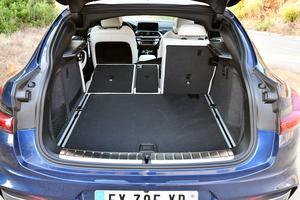 Le coffre a gagné 25 litres de contenance par rapport à la première génération.