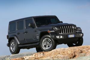La calandre à sept barres verticales reste un symbole immuable d'appartenance à la famille Jeep.