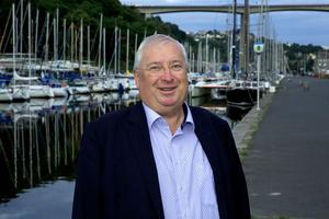 Thierry Troesch, président de la CCI de Saint-Brieuc.