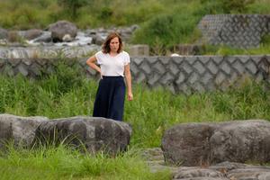 Sibylle Véron est arrivée le 3 août à Nikko pour chercher sa sœur.