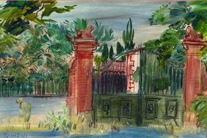 «Les ateliers de Perpignan», Raoul Dufy au musée Yacinthe Rigaud.
