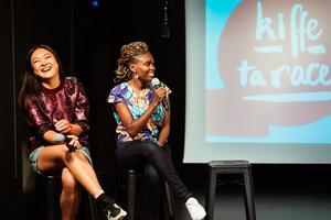 Grace Ly et Rokhaya Diallo lancent un podcast chez Binge, Kiffe ta race.