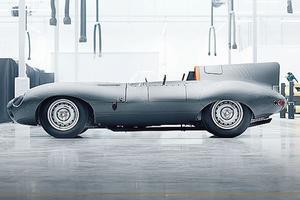 <b>JAGUAR TYPE D.</b> Le <b/>constructeur a promis 25 répliques de sa voiture la plus glorieuse. La facture s'élève à 1,2 million d'euros (hors taxes). Presque une bonne affaire si l'on se réfère aux 19,23 millions d'euros qu'un amateur a déboursés en 2016 pour devenir propriétaire de la Type D victorieuse au Mans en 1957.
