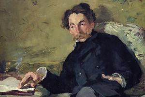 Stéphane Mallarmé par Édouard Manet en 1876.