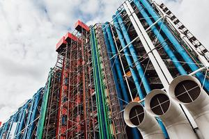 Le Centre Georges-Pompidou (IVe).