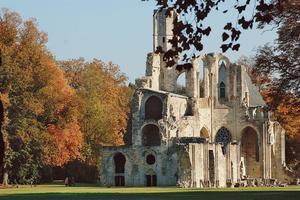L'abbaye de Chaalis (60).