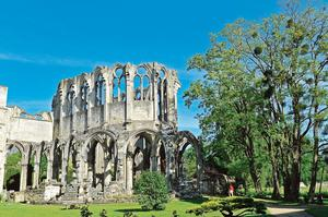 L'abbaye d'Ourscamp (60).