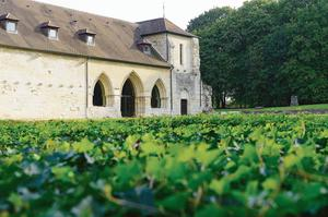 L'abbaye de Maubuisson (95).