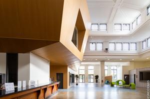 L'école Esmod est installée dans l'ancienne Banque de France de Pantin (93).