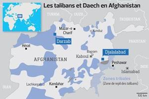 Les talibans et Daech en Afghanistan