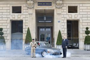 Louis de Funès et le général de Gaulle.