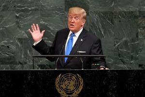 Trump, critique virulent de l'ONU.