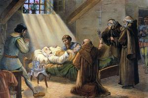 La mort de Christophe Colomb à Valladolid le 20 mai 1506.