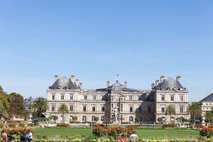 Le jardin du Luxembourg.